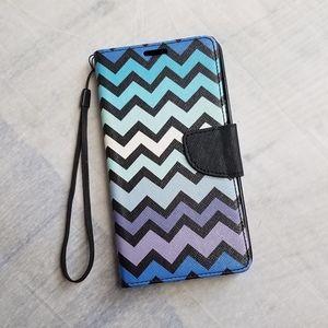 Accessories - Samsung Galaxy Note 5 Chevron Wallet Case